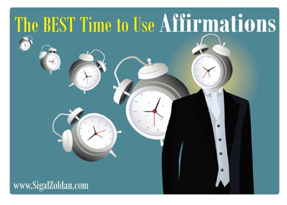 best time to use affirmations
