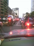 Traffic on Wilshire