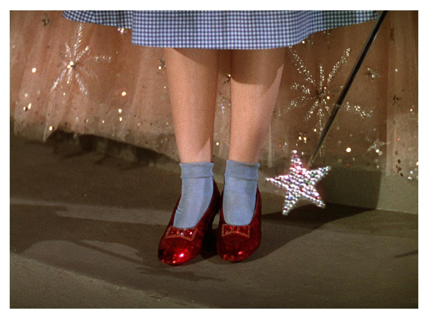 dorothy is red shoes