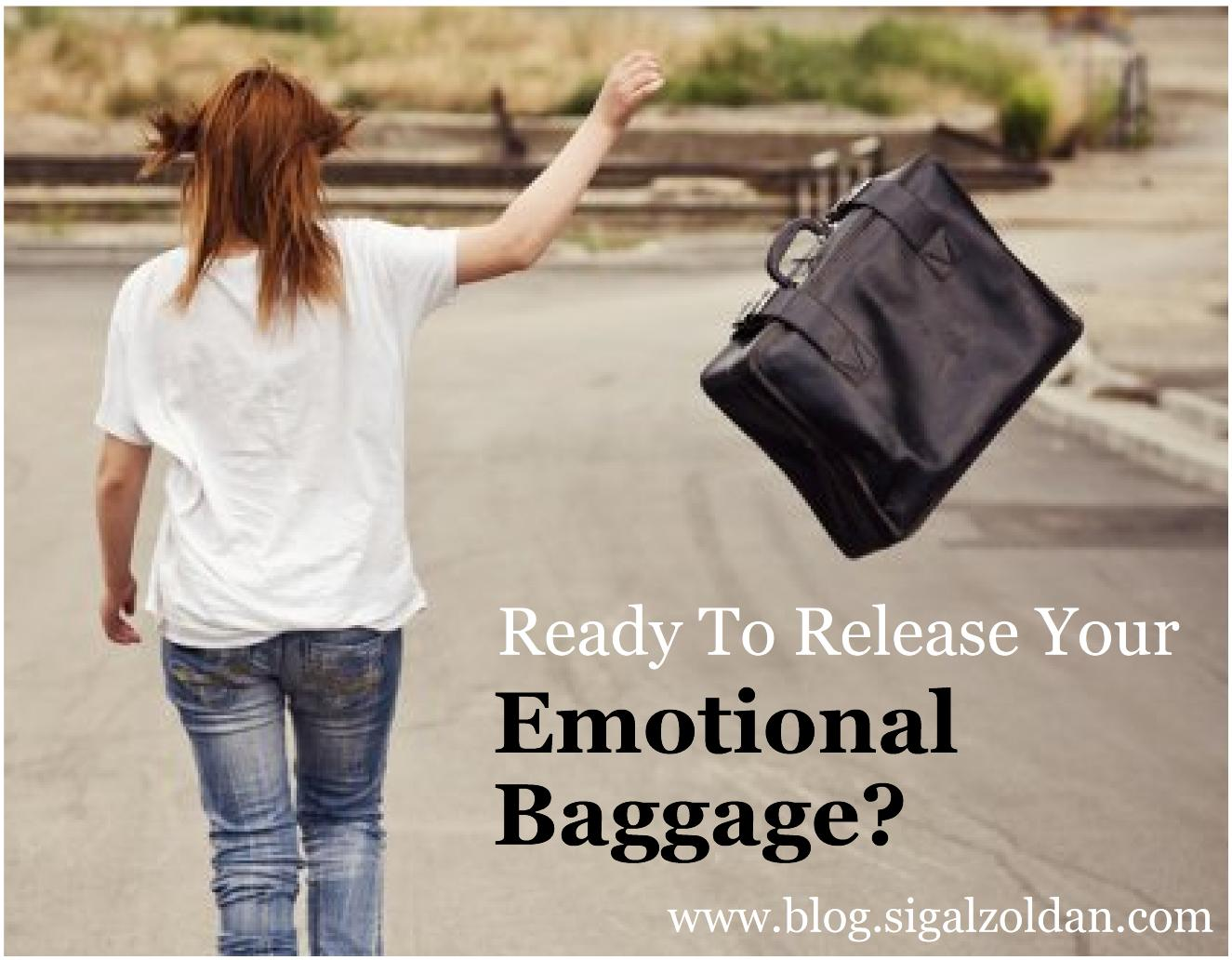release emotional baggage