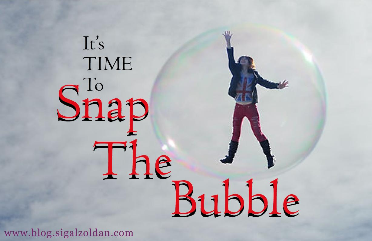 snap the bubble
