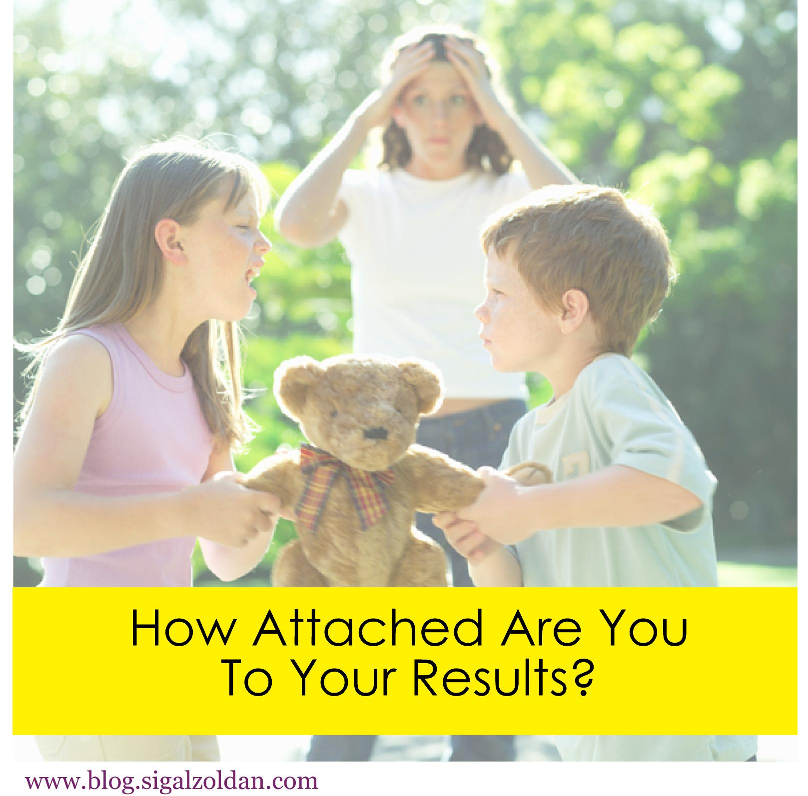 attached to results